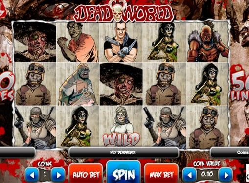 Дикий символ игрового автомата Deadworld
