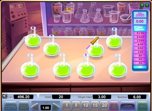 Бонусная игра в слоте Crazy Doctor