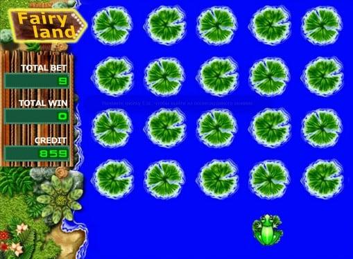 Бонус игра в онлайн автомате Fairy Land