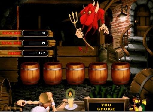 Бонус игра на онлайн аппарате Lucky Drink
