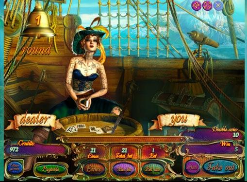 Риск игра на аппарате Pirate Treasures