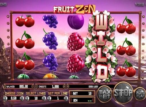 Wild символ в игровом онлайн автомате Fruit Zen