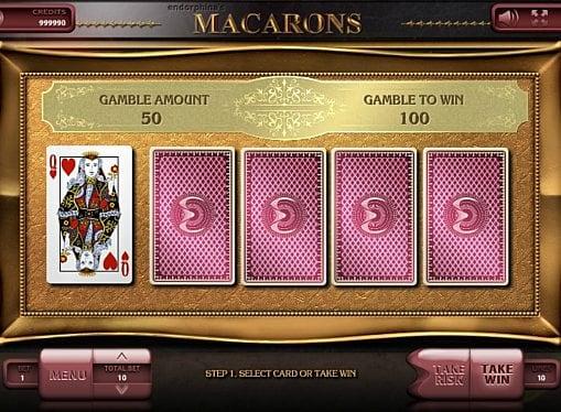 Риск игра в онлайн аппарате Macarons