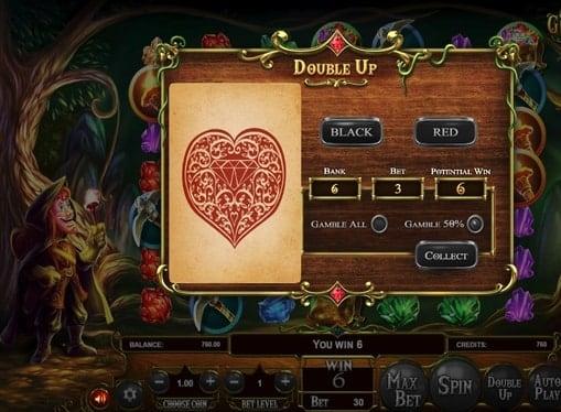 Риск игра в онлайн слоте Giovannis Gems