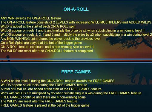 Игровой бонус в слоте Wild Run