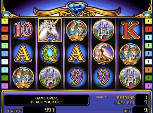 Символы игрового автомата Unicorn Magic