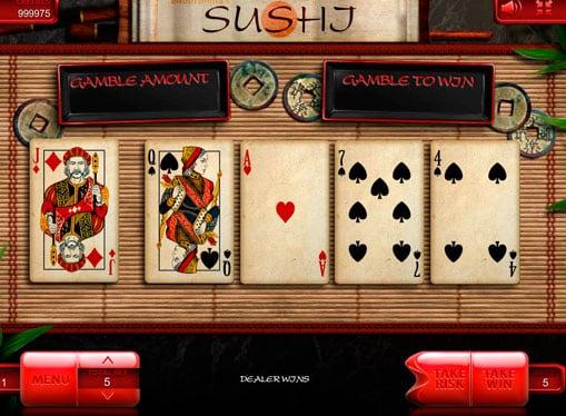 Риск игра в онлайн аппарате Sushi